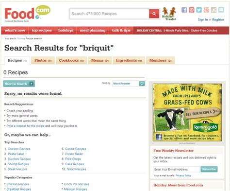 No Lookup 3 Guidelines For Search Engine Quot No Results Quot Pages