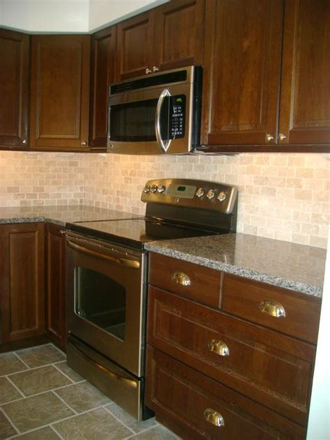 kitchen with stone backsplash kitchen backsplash ideas
