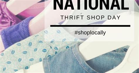 Especially For Thrifty Boutique by August 17th Is National Thrift Shop Day Remember To