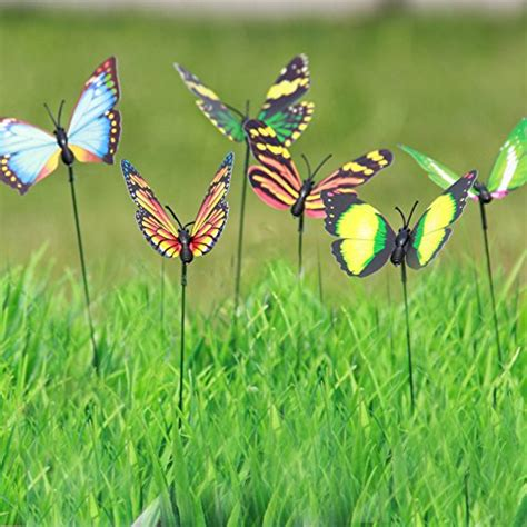 Butterfly Garden Decor Lebeila Butterfly Garden Ornaments Patio D 233 Cor Butterfly Supplies New Ebay