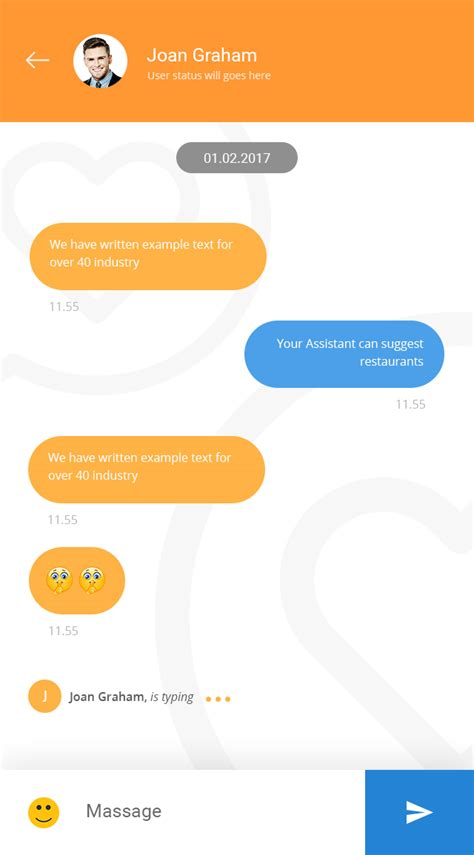 chat android awesome chat android firebase real time mobile application by 0effortthemes