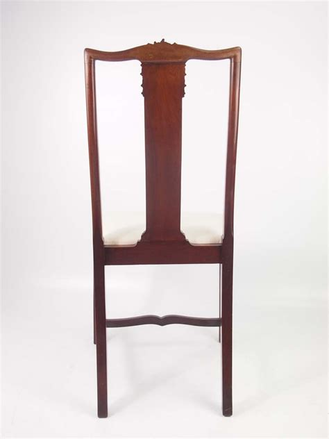 antique mahogany side chairs pair antique edwardian mahogany side chairs