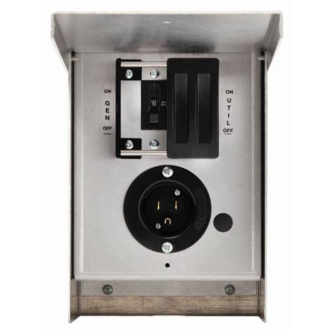 Switch Genset shop generac 15 single circuit manual transfer switch