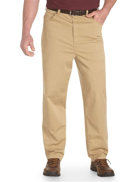 comfortable pants harbor bay men s big and tall continuous comfort pants