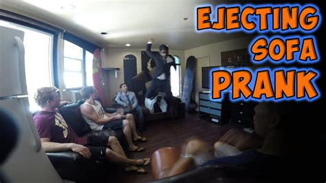airbag prank couch ejecting sofa prank from magic of rahat prank videos