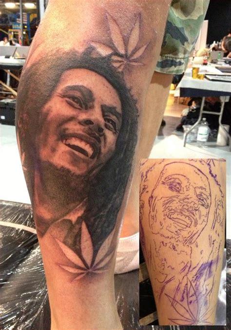 tattoo design bob marley bob marley tattoo on sleeve by pereirax