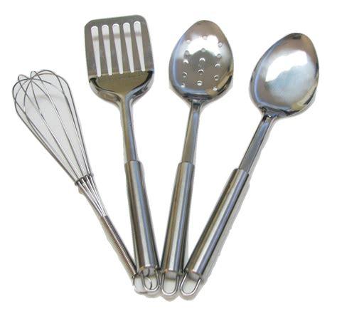 4 piece stainless steel kitchen utensil set cooking utensils