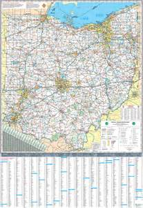 us map ohio pages 2011 2014 ohio transportation map archive