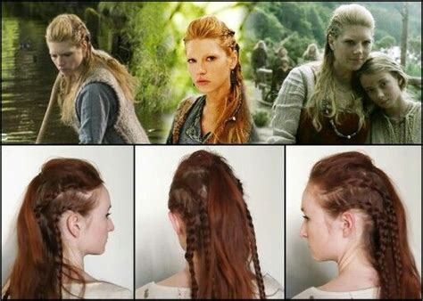 how to do your hair like vikings lagertha lagertha hair from vikings tv show vikings pinterest