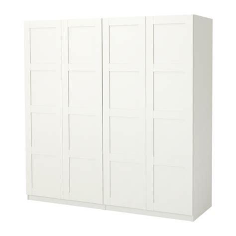ikea wardrobe white pax wardrobe white bergsbo white 200x60x201 cm ikea