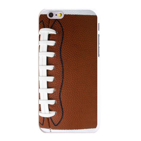 Cheer Soccer Casing Iphone 7 6s Plus 5s 5c 4s Cases Samsung custom cover for iphone 5 5s 6 6s plus football texture photo laces ebay