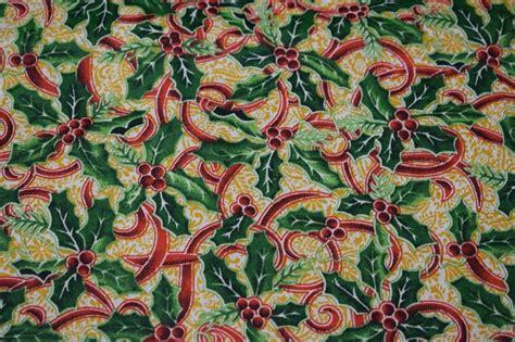 Upholstery Fabric Crafts by Mistletoe Print Quilt Fabric Craft Apparel Upholstery 45 Quot Holiday12148 Ebay