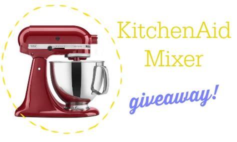 KitchenAid Stand Mixer Giveaway :: Southern Savers