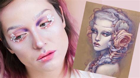 tattoo eyeliner ipsy ipsy art squared watercolor inspired makeup tutorial