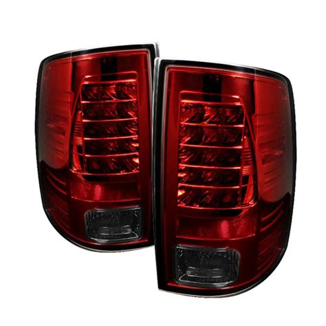 Pair Tail Lights Dodge Ram 1500 2009 2012 Ram 2500 3500