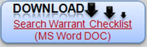 Nc Doc Warrant Search Search Warrants Mistakes Can Be Prevented