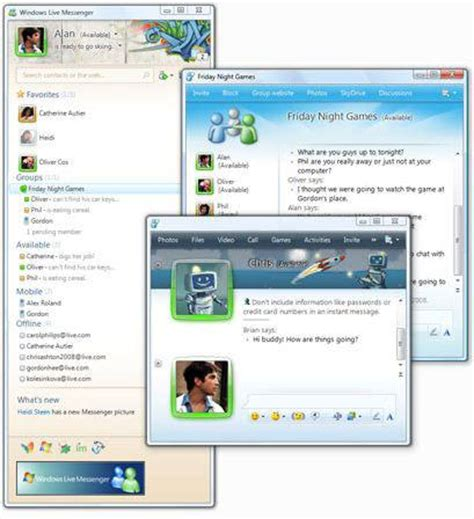 live themes windows 7 download windows live messenger 2010