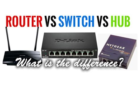 Switch Hub Router The Differences Between Hubs Switches And Routers The Miller