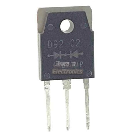 ultrafast soft recovery diode d92 02 ไดโอด ultrafast soft recovery diode 2 x 10 a