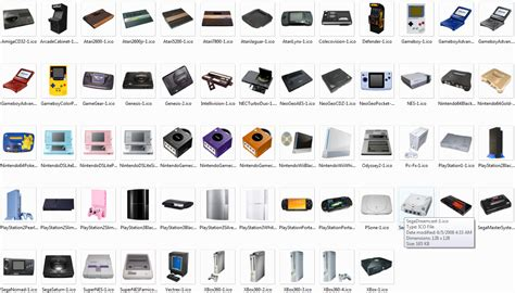 game console history list the old vs the new 2012 videogamesalexander