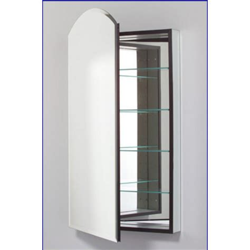 robern frameless medicine cabinets medicine cabinets m series arch door medicine cabinet 16