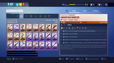 fortnite order id the new weapon perks forums