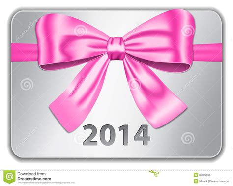 Free Pink Gift Cards - 2014 gift card royalty free stock image image 33806666