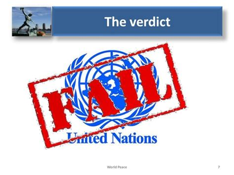 United Nations Nation 7 by Why The United Nations Will Never Bring World Peace