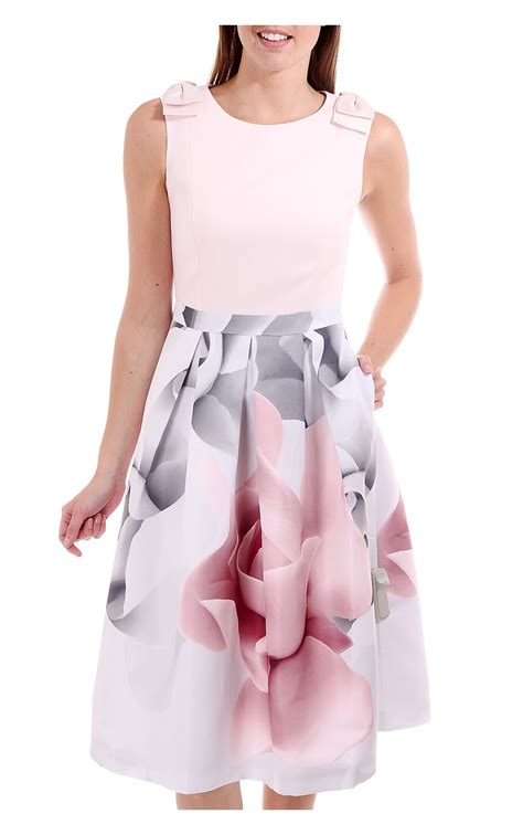 Porceline Dress pink porcelain dress fashion dresses
