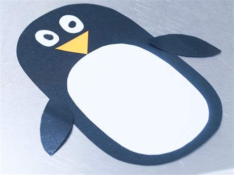 How To Make A Penguin With Paper - how to make a paper penguin with pictures wikihow