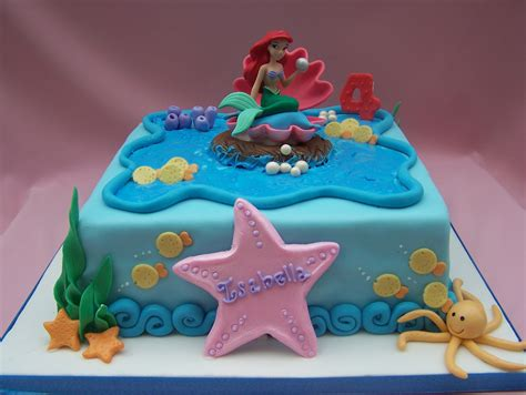 Ariel Cake Decorations by The Mermaid Cake Made Decorations The