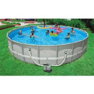 Backyard Pools At Walmart Intex 22 X 52 Quot Ultra Frame Above Ground Swimming Pool