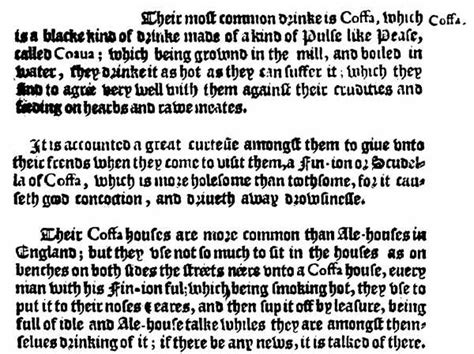the letter black 6 the introduction of coffee into 1657