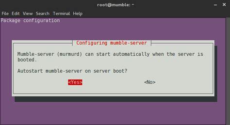 Ubuntu Configure Mumble Server | how to install and configure mumble server murmur on