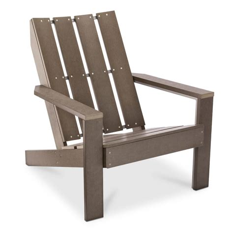 Threshold Patio Chairs Bryant Faux Wood Patio Adirondack Chair Threshold Ebay