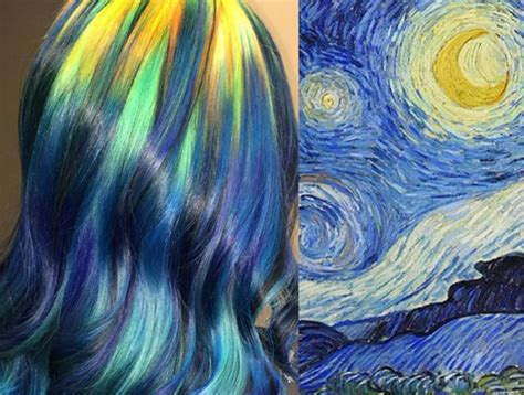 painting hair color how artists like vincent gogh are inspiring new