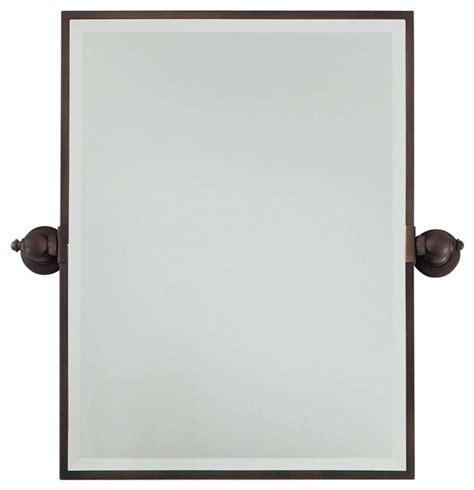 bathroom pivot mirrors oiled bronze bathroom mirrors oil minka lavery pivoting mirror brushed nickel