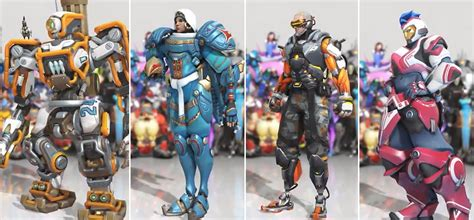 new year overwatch 2017 look at four new overwatch skins kotaku australia