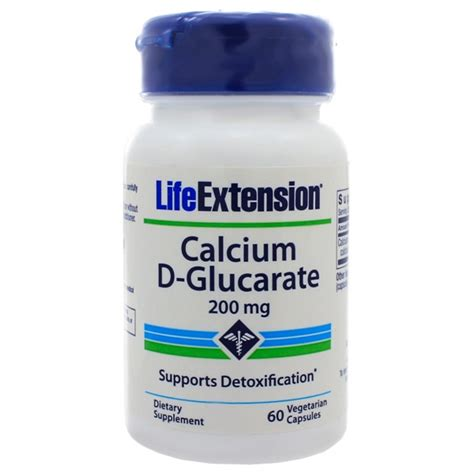 Detox Of Grapefruit Juice Biochem by Extension Calcium D Glucarate 200mg 60 Capsules