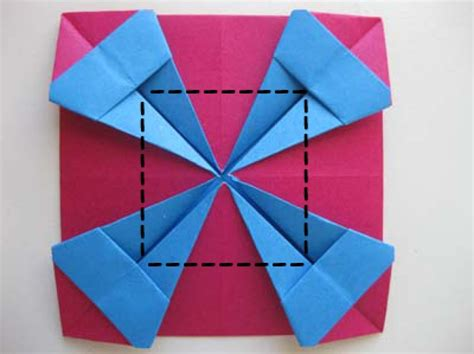 How To Make Paper Photo Frame - picture frames origami picture frame 4x6 origami picture