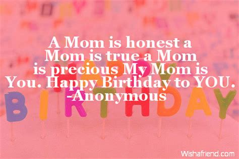 Quotes For Mothers Birthday Special Birthday Quotes For Mom Quotesgram