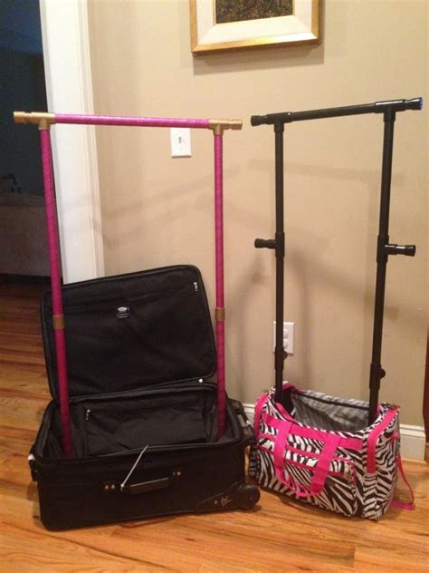 Suitcase With Garment Rack by Glam Racks Garment Rack Disassembly