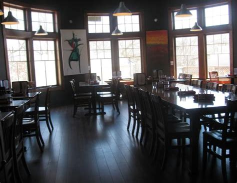 the barley room the larger dining room picture of the barley vine rail co orangeville tripadvisor