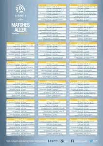 calendrier ligue 1 2014 2015 matchs aller tuxboard