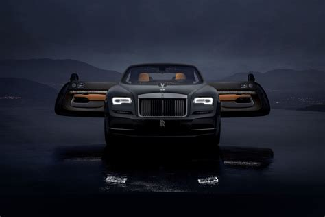 roll royce star rolls royce s latest wraith features a roof with shooting