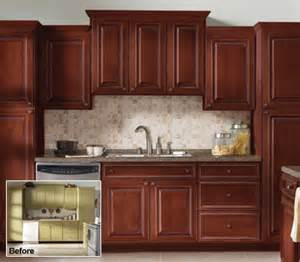 kitchen cabinet refacing home depot refacing kitchen cabinets before and after