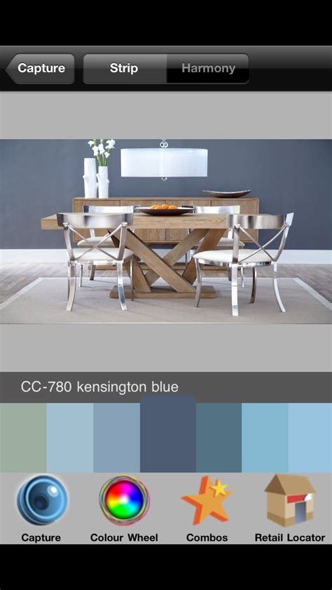 wall colour cc 780 kensington blue the benjamin colour matching app for your phone may