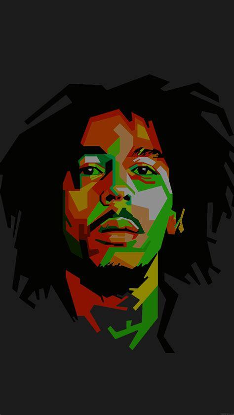 bob marley dark art illust  reggae celebrity iphone