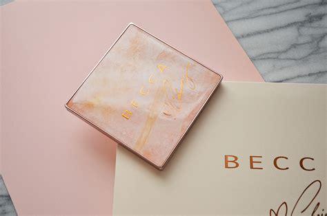 Becca X Chrissy Teigen Glow Palette Limited Edition becca x chrissy teigen glow palette makeup sessions