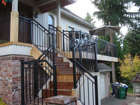 exterior banister stairs amazing exterior stair handrail fascinating